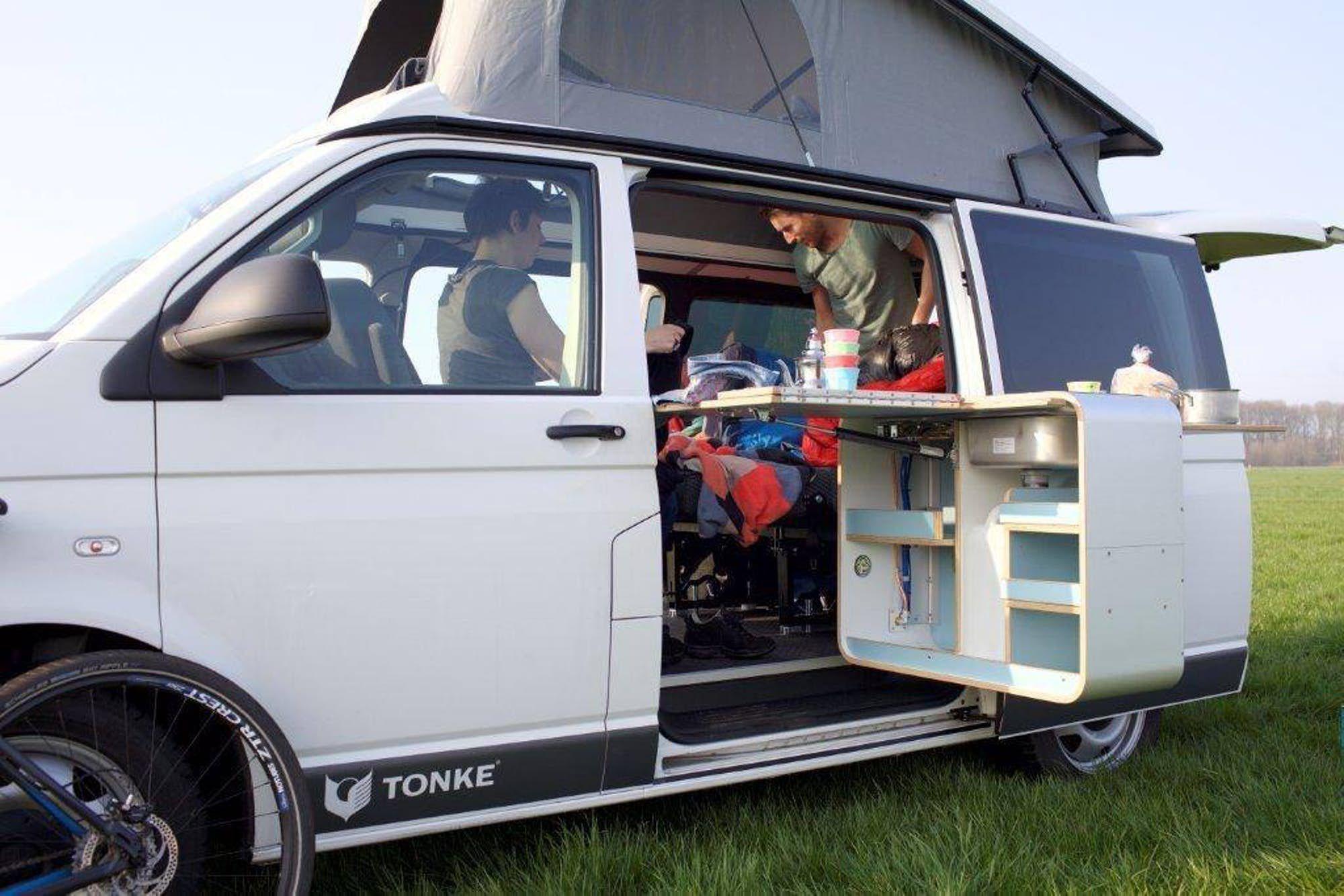 Tonke Turns The New Vw T6 Into Versatile Camper Van Camper Van