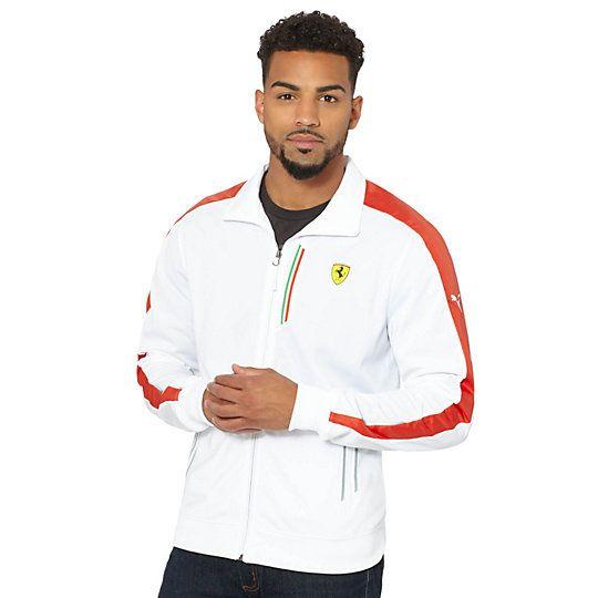 Ferrari Track Jacket Details http://us.puma.com/en_US/pd/ferrari-track-jacket/pna888535449620.html $90.00