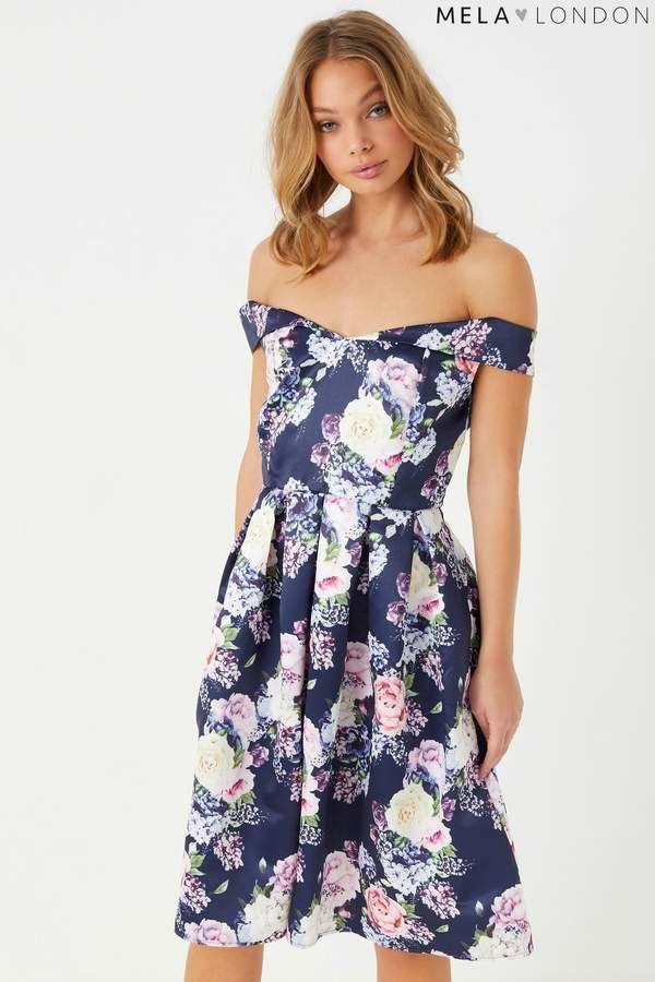 Womens Bardot Sleeveless Dress Mela avjJzI6y