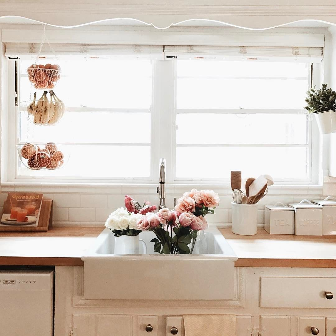 a farmhouse sink.....all my kitchen dreams come true ❤ | ∆ home ...