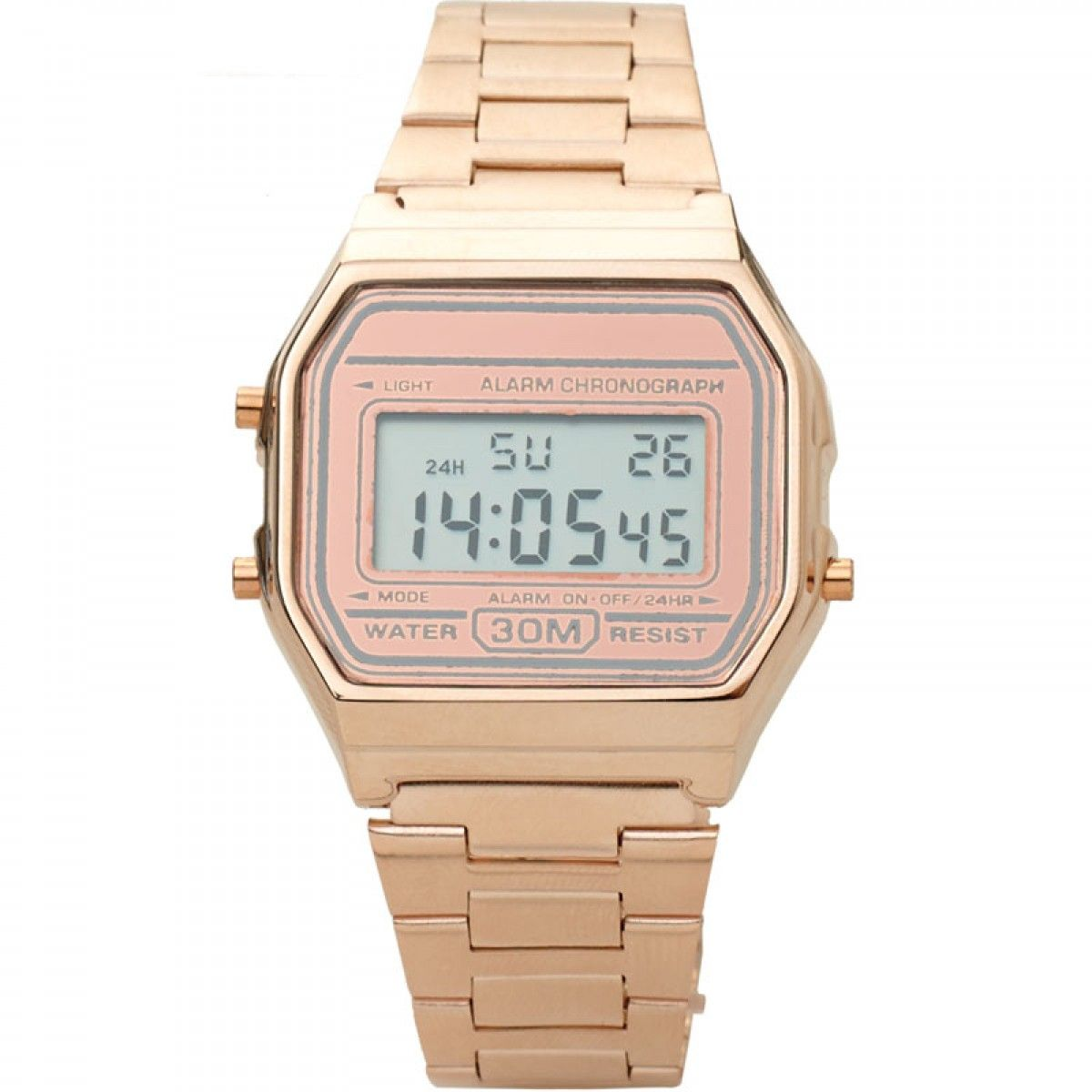 Gouden Horloge Vintage Casio Horloge Rose Pf Mm Collection Vintage
