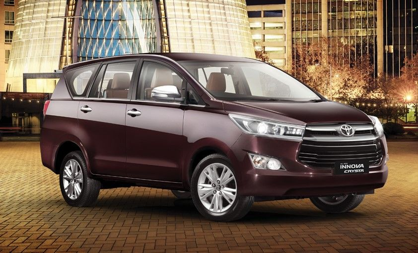 Toyota Innova Crysta Launched Inr 13 84 Lakh Ex Showroom Mumbai