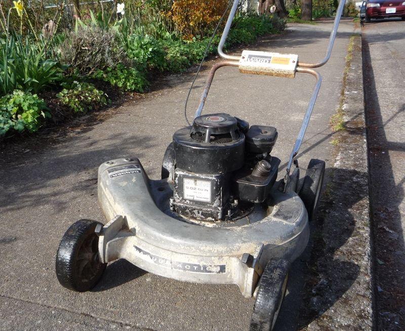 B S 3 Hp In 2020 Lawn Mower Mower Rotary Mower