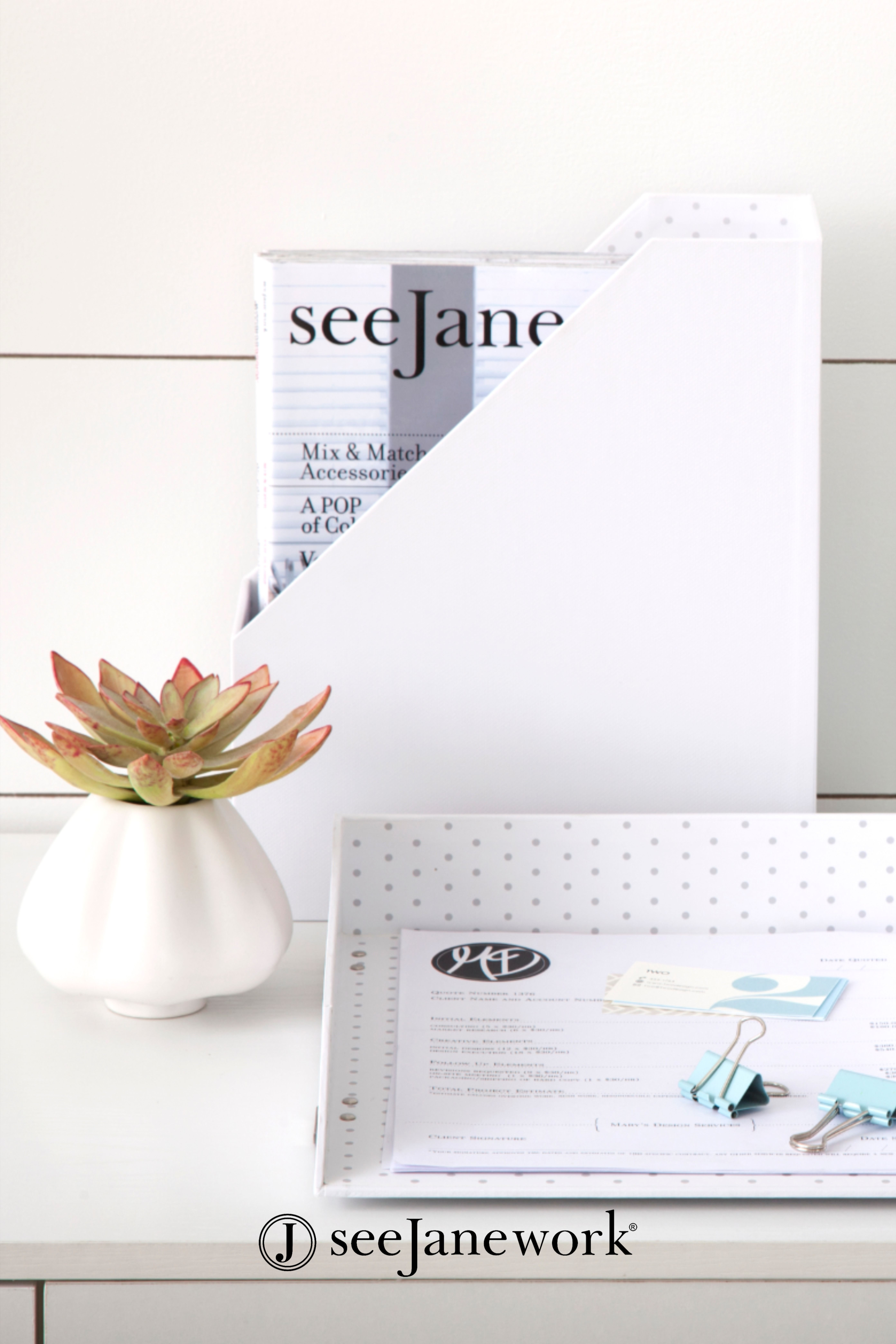 Seejanework: Classic Desk Accessories For Home Or Office In 2020