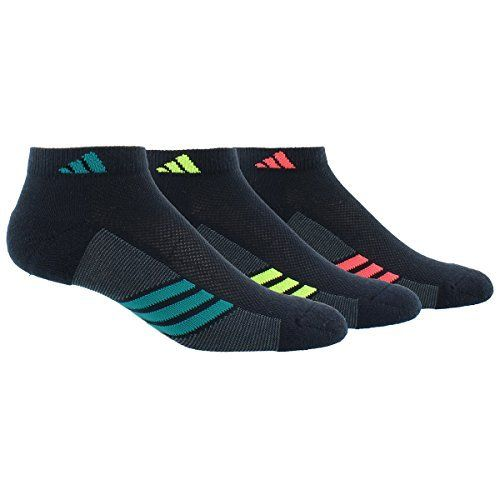 new styles b0298 e2484 adidas Womens Superlite Low Cut Socks Pack), One Size, BlackGraphiteEQT  GreenSemi Solar SlimeShock Red  You can get more details by clicking on  the ...