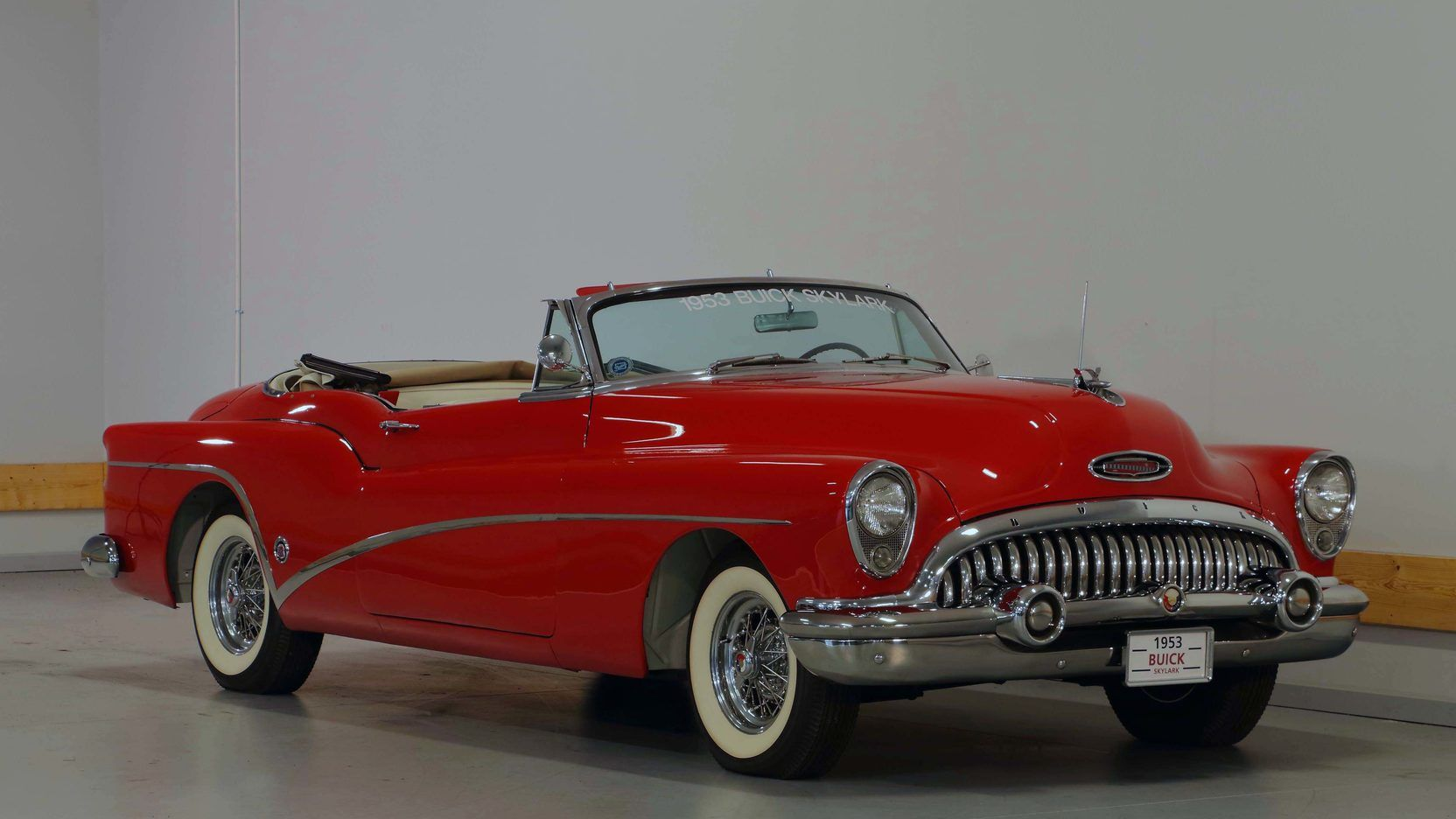 1953 Buick Skylark Convertible presented as Lot R105 at Indianapolis, IN