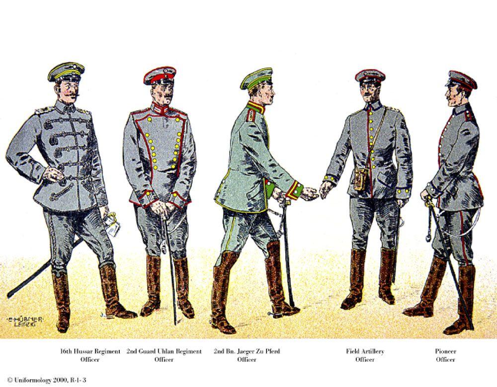 Ruhl 14 Military History World War German Uniforms