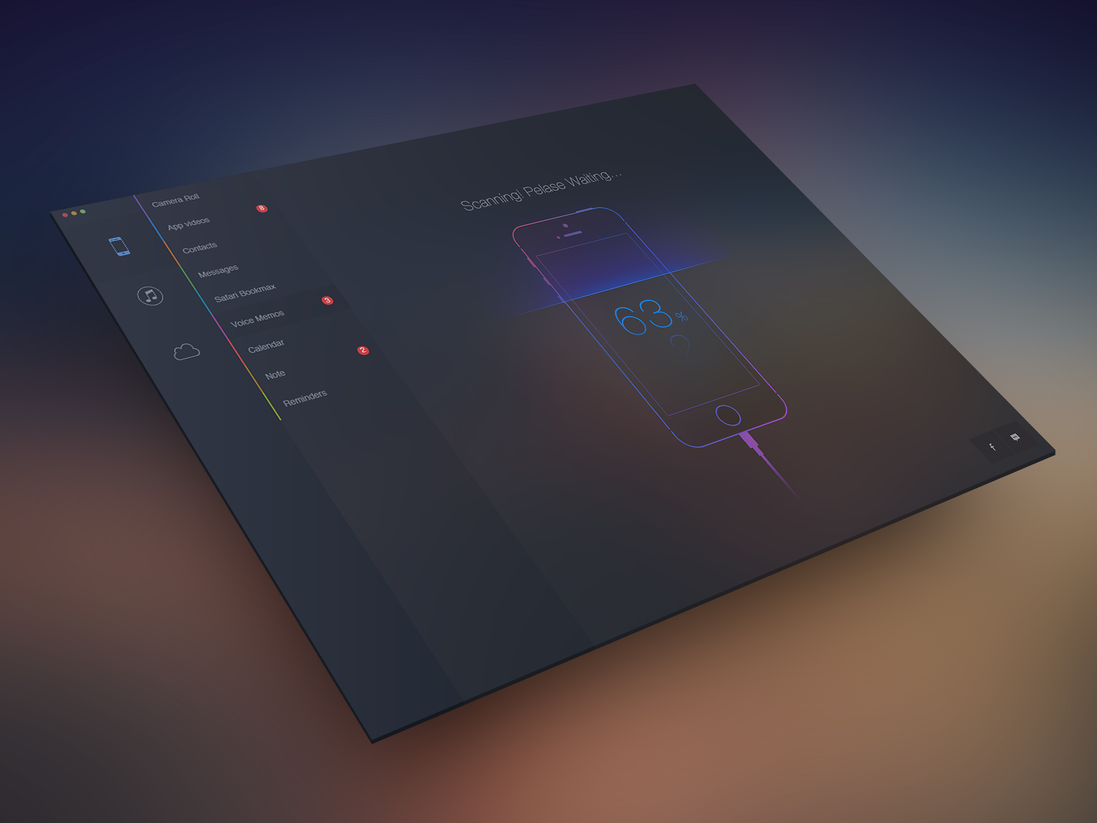 Dribbble - ScanningRealPixel_view.png by wallace