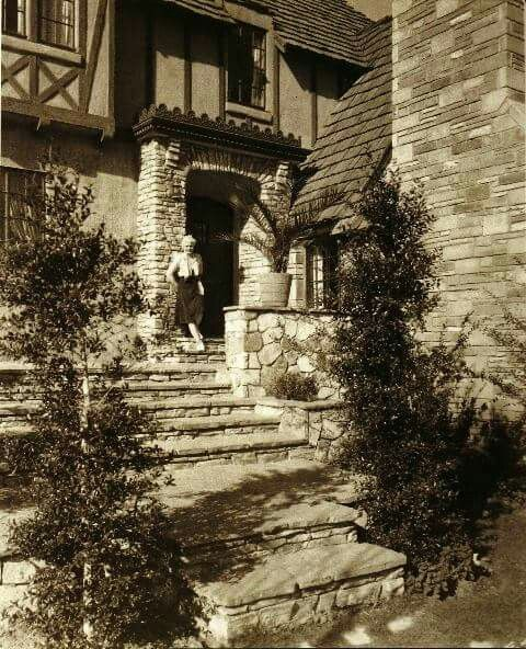Jean Harlow 39 S Home On Clubwood Dr Hollywood Historic
