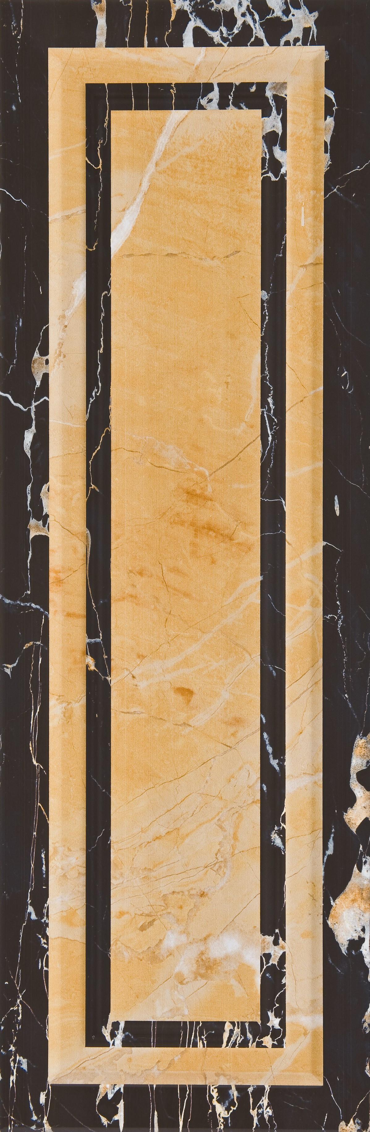 #Aparici #Luxury Portoro Negro Ornato 25,1x75,6 cm | #Porcelain stoneware #Marble #25,1x75,6 | on #bathroom39.com at 66 Euro/sqm | #tiles #ceramic #floor #bathroom #kitchen #outdoor