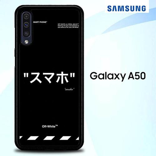 Off White Wallpaper Iphone O5192 Samsung Galaxy A50 Premium Case In 2020 Samsung White Wallpaper For Iphone Samsung Galaxy