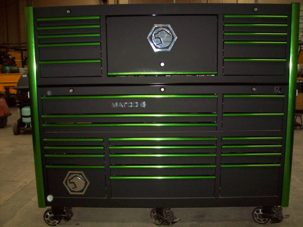 Auto Garage Tools For Sale: Matco 6S 3 Bay Tool Box #MatcoTools