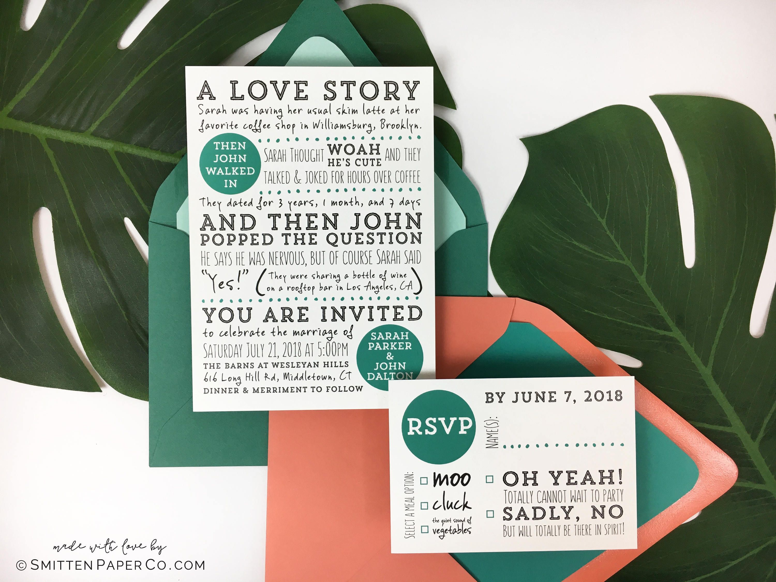 wedding invitation rsvp wording funny%0A Find this Pin and more on Creative Wedding Inspiration by perfectpalette