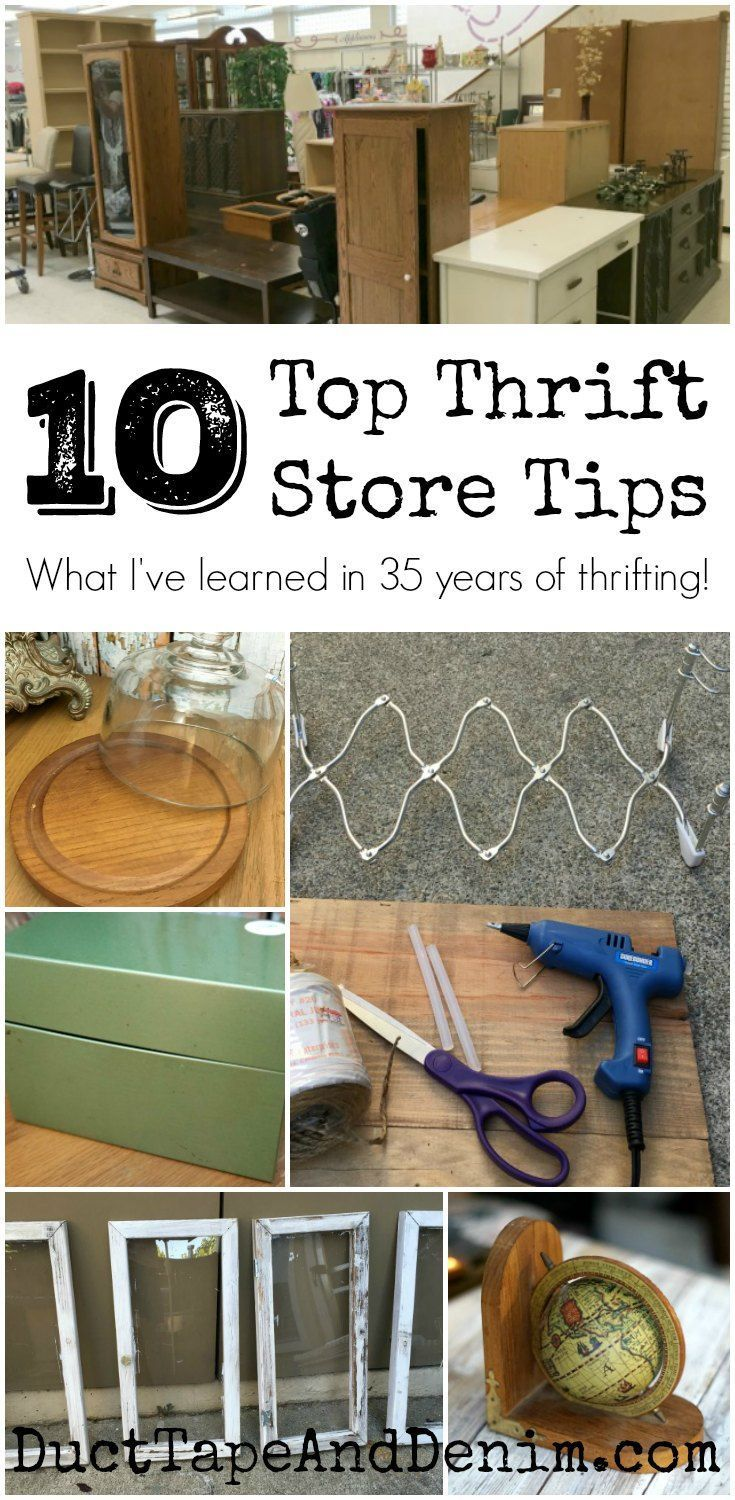 The 10 Thrift Store Tips You Need to Know Before Shopping