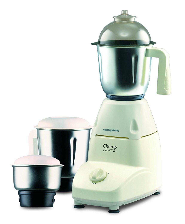 Morphy Richards Champ Essentials 500-Watt Mixer Grinder (White ...