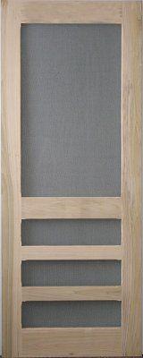 Modern Screen Door With Vintage Feel Puertas De Aluminio