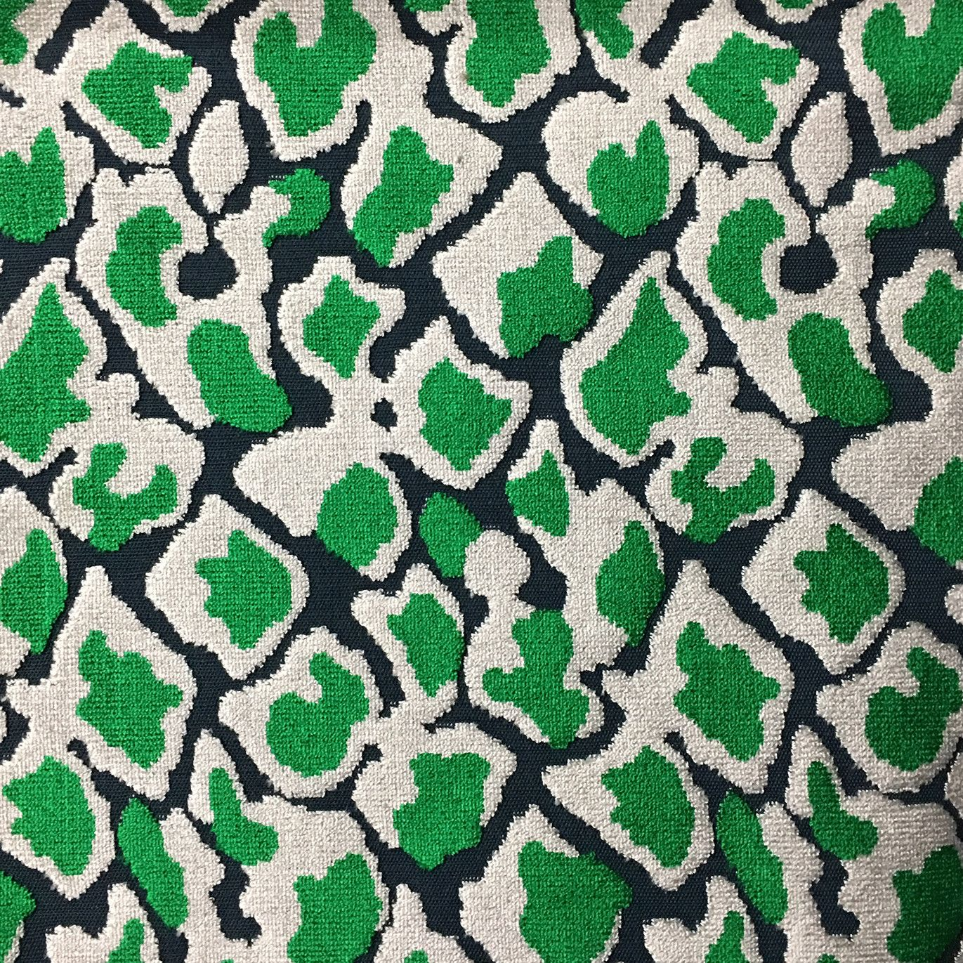 Hendrix - Leopard Pattern Cut Velvet Upholstery Fabric by the Yard - Available in 15 Colors #velvetupholsteryfabric