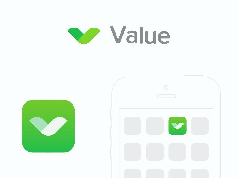 Value App Icon by sumit chakraborty
