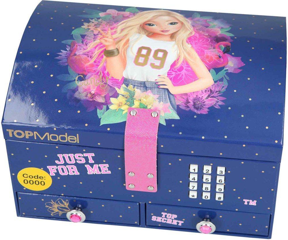 Topmodel Joyero Grande Just For Me Con Codigo Música Tienda Lilifee Joyería Para Chicas Accesorios Para Peinados Muñecas De Bebés