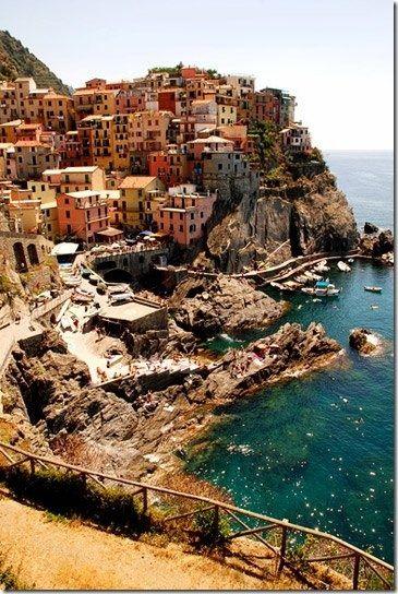 Cinque Terre, Italy, also my dream hike.