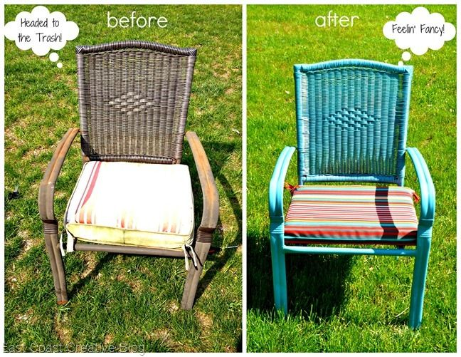 Patio Furniture Update on a Budget! {and a giveaway