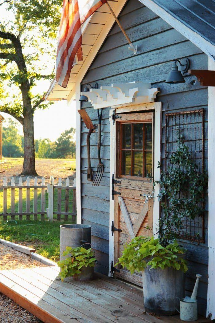 7 Tips for Creating a Rustic Garden (mit Bildern