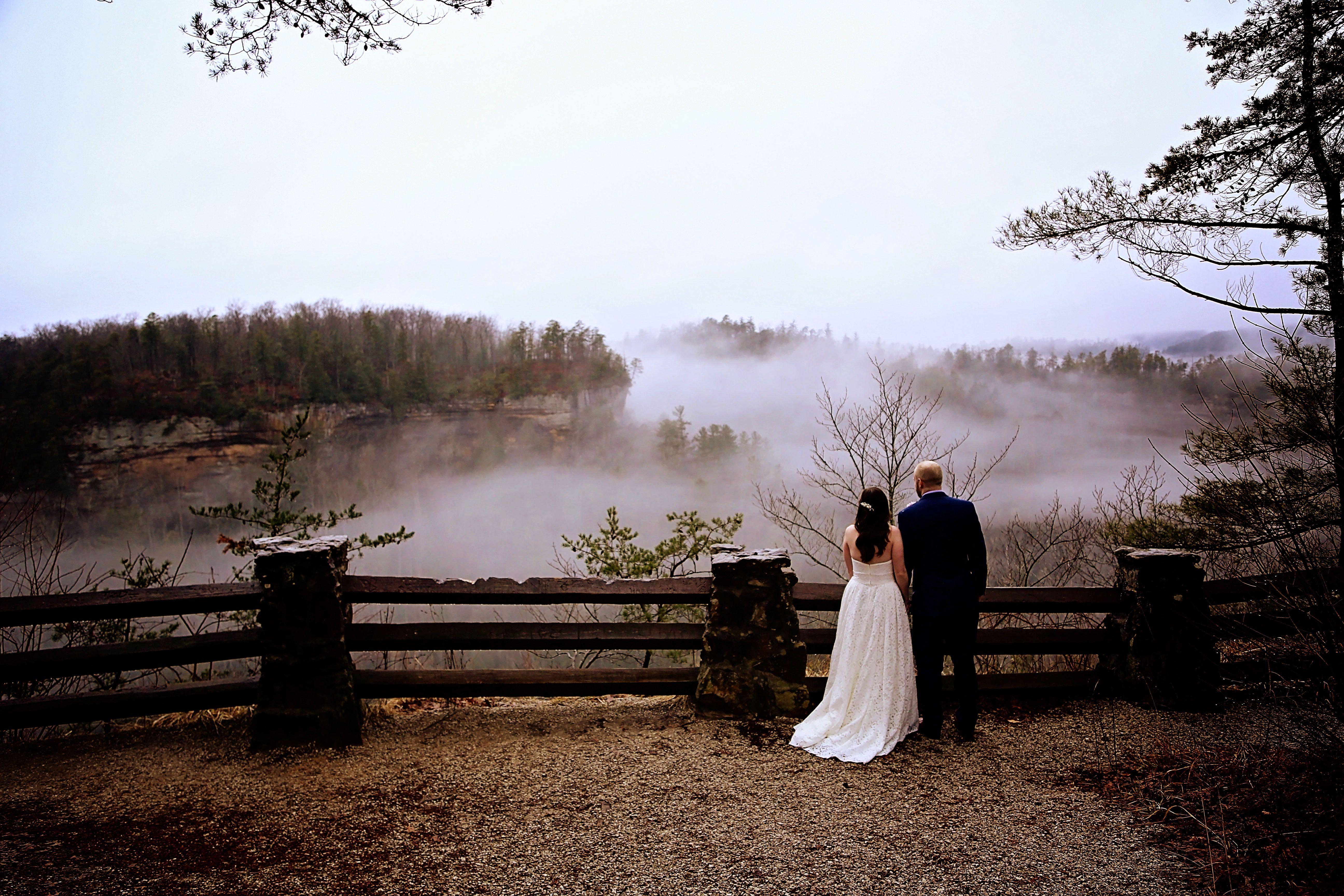 Kentucky Elopement And Destination Wedding Red River Gorge Wedding Tiny Wedding Small Destination Weddings Destination Wedding Etiquette