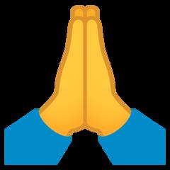 Person With Folded Hands Emoji Hand Emoji Folded Hands Emoji