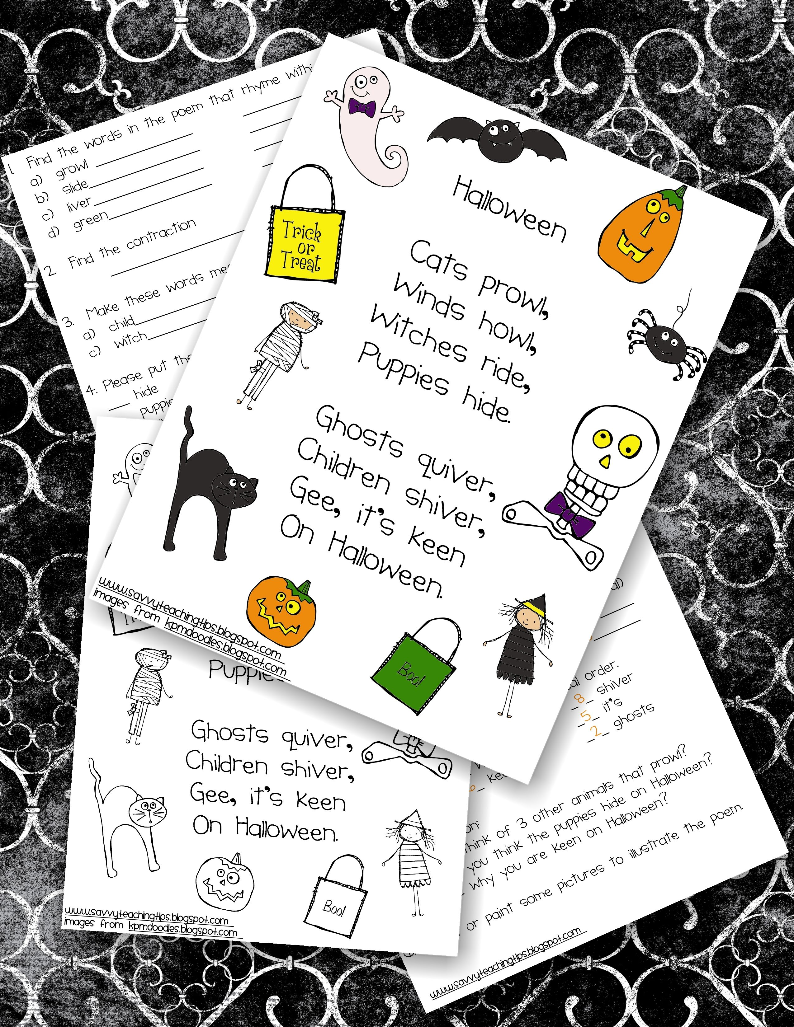 A Simple Halloween Poem
