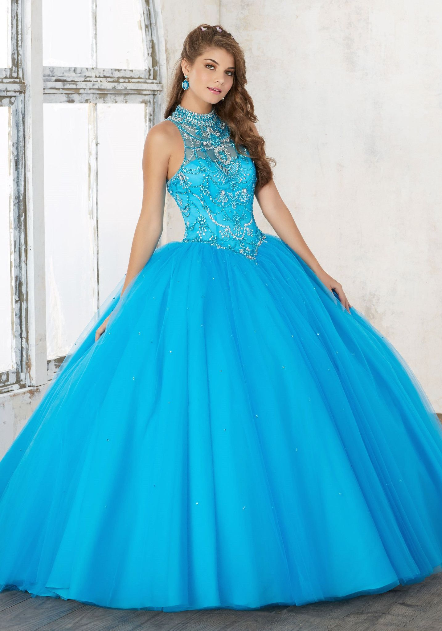 Mori Lee Valencia Quinceanera Dress 60011 | Fiestas de 15, Para 15 y ...