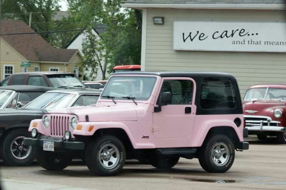Pink Eyelashes Jeep Pinterest Jeeps