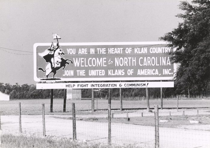 Who Else Remembers The I You Are In Klan Country Billboard - Kkk us map howell