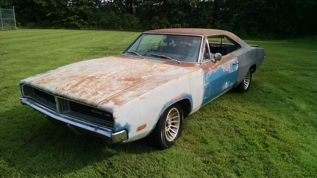 Charger In The Rough 1969 Dodge Charger Project With Images