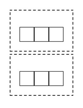 Elkonin Sound Box Template | 1st Grade | Phonics rules, Teaching