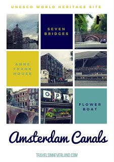 Bucket List: Exploring the canals of Amsterdam