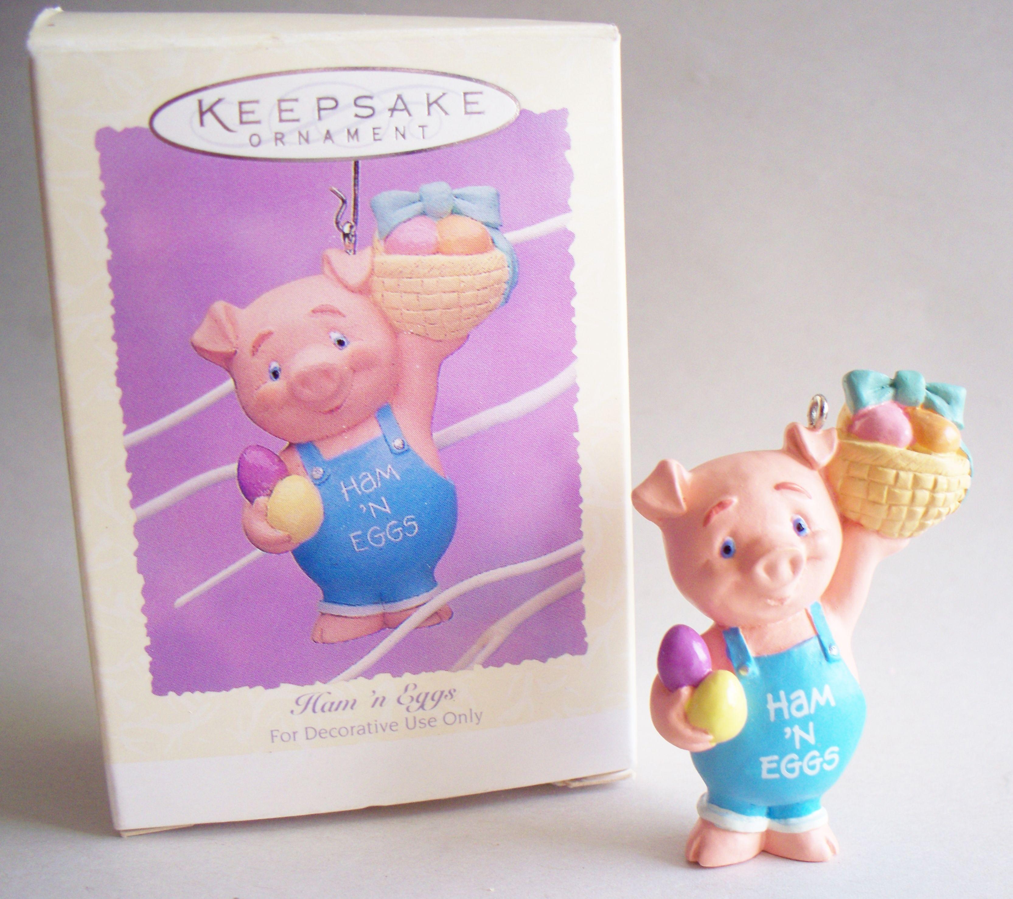 Ham n Eggs, Hallmark Keepsake Easter Ornament, 1995.
