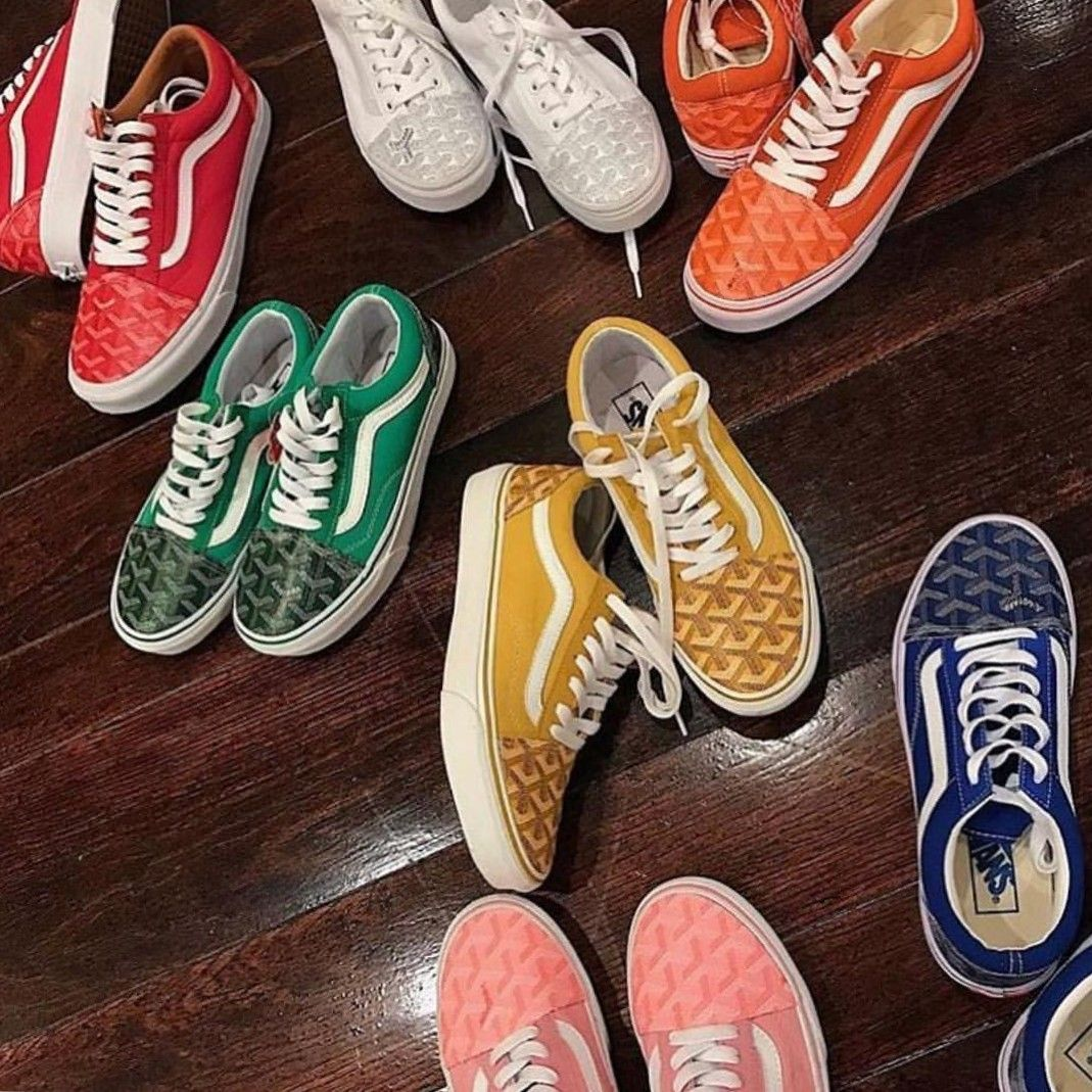 All sorts of delights with the new Vans x Lazy Oaf