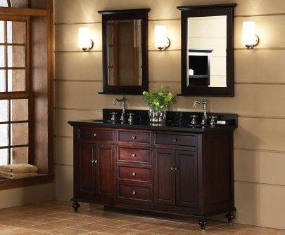 Xylem Glenayre 60 Vanity Love Love Love The Dark Wood Bathroom Vanity Decor Unique Bathroom Vanity Bathroom Furniture Vanity