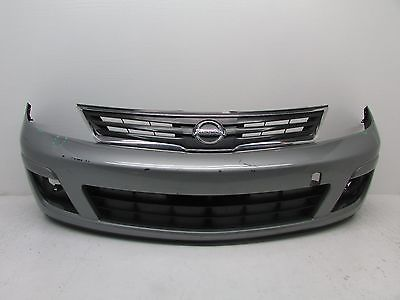 2007-2012 Nissan Versa Front Bumper Cover W/ Grille Grill