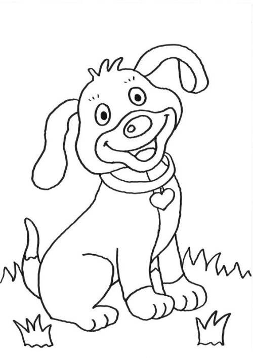 Hunde Welpe Ausmalen Zum Ausmalen Malvorlage Hund Ausmalbilder
