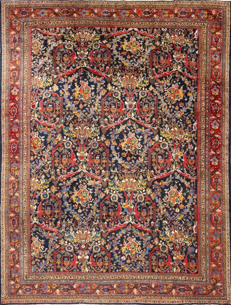 Persian Mahal Rug Matt Camron Gallery Textile Arts