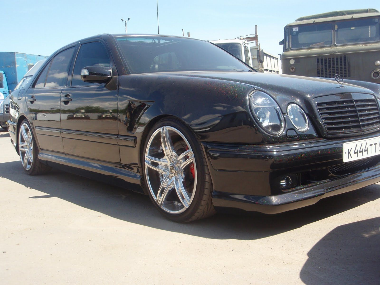 Mercedes benz w210 wald body kit