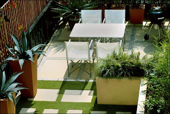 Charmant Small Roof Garden Designs