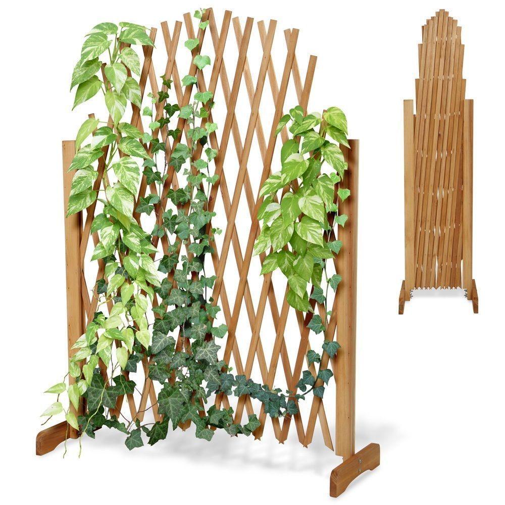 Pflanzen Gitter Holz Garten Balkon Spalier Terrasse Blumen Pergola