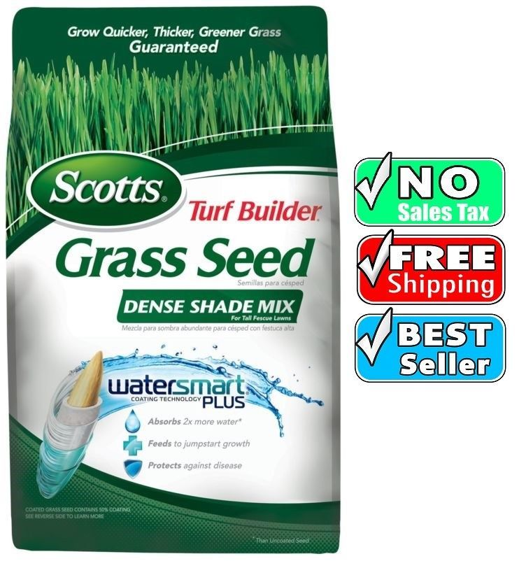 Details about Scotts Turf Builder Dense Shade forTall Fescue Lawns Grass Seed Mix(6 Pack)NEW is part of Shade Grass lawn -