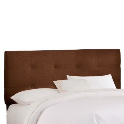 Dolce Buton Tufted Linen Headboard - Cho | Studio | Pinterest