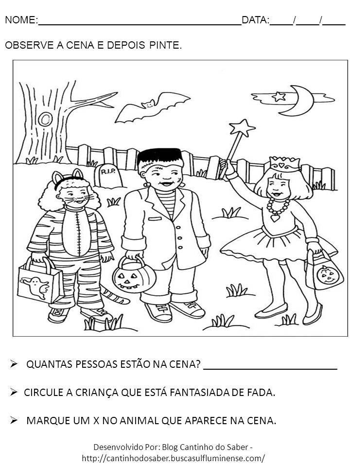 Dia Das Bruxas Varias Atividades Para A Educacao Infantil Atividades Para O Dia Das Bruxas Dia Das Bruxas Educacao Infantil