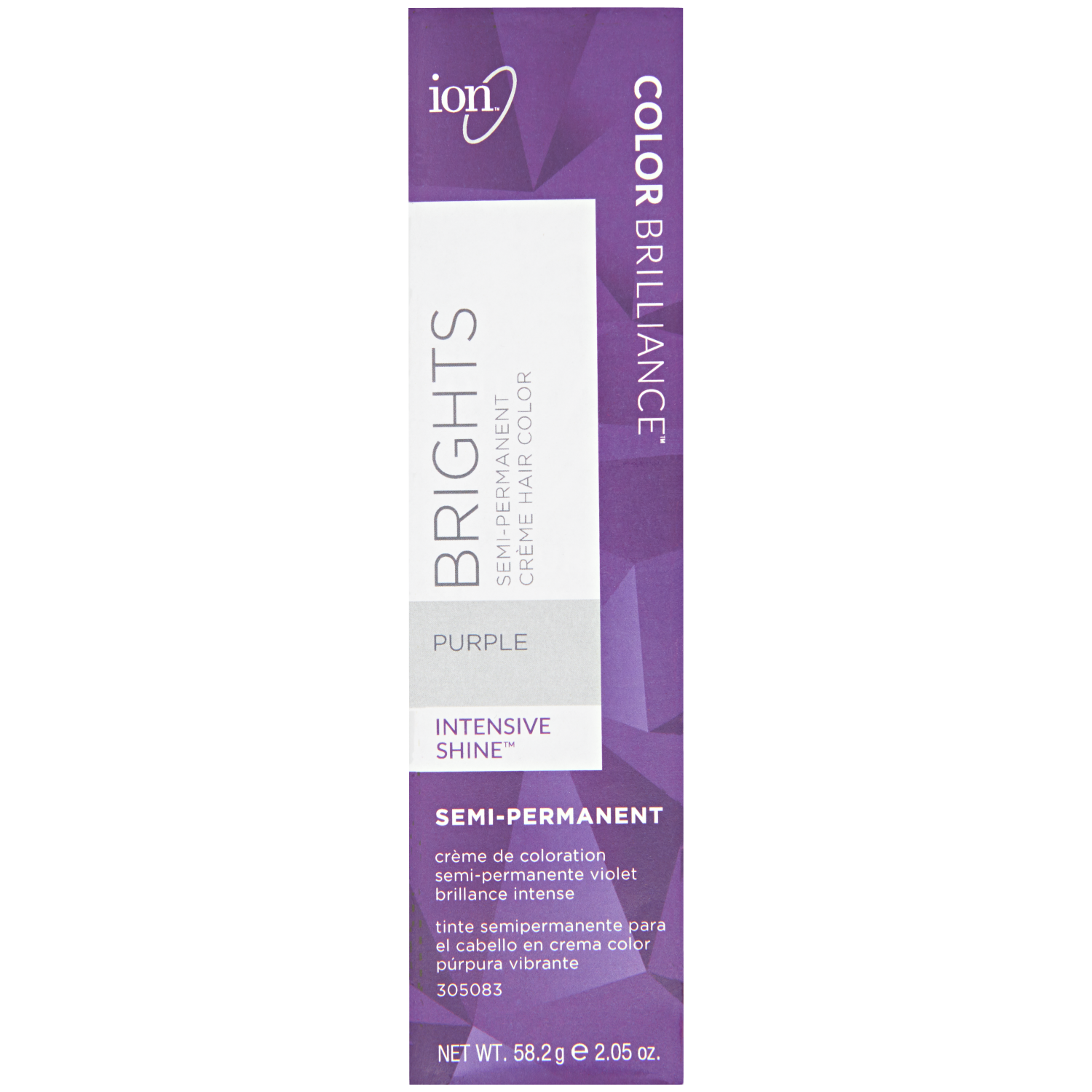 ion Color Brilliance Semi-Permanent Brights Hair Color are high-fashion hair colors designed to give vivid, boldly intense results.