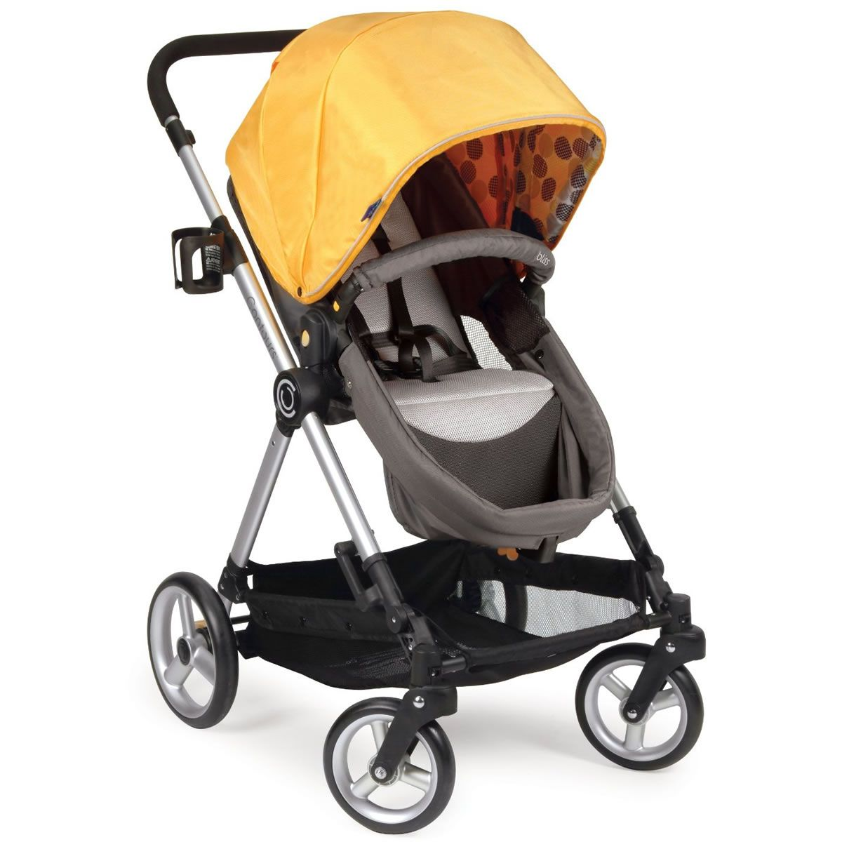 Contours Bliss 4in1 Baby Stroller System Valencia Gold