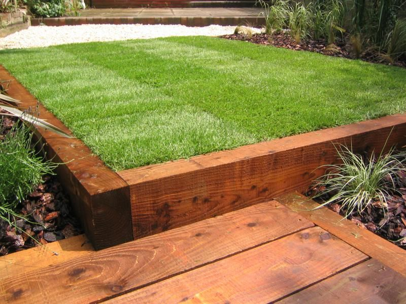 Garden Design Using Sleepers railway sleeper ideas - bing images | ideas for the garden